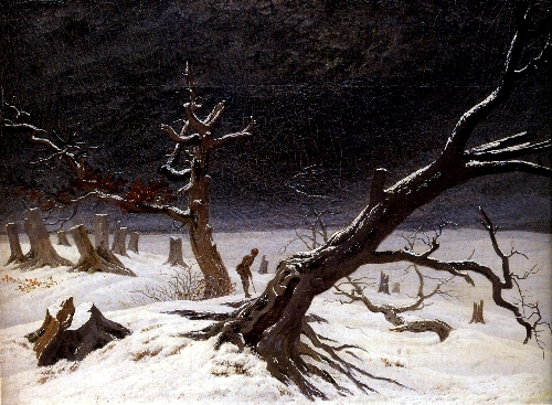 Winter Landscape (1812) | Caspar David Friedrich | oil painting