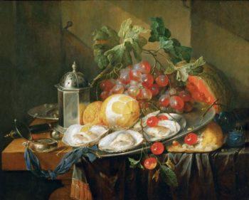 Breakfast Still Life | Cornelis de Heem | oil painting