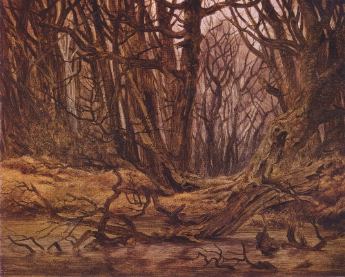 Wald im Spatherbst (1835) | Caspar David Friedrich | oil painting