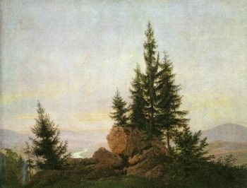 View of the Elbe Valley (1807) | Caspar David Friedrich | oil painting