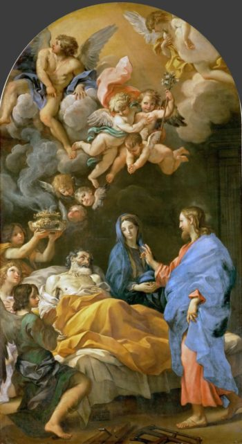 Death of Saint Joseph | Carlo Maratti | oil painting