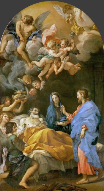 Death of Saint Joseph | Carlo Maratti | oil painting
