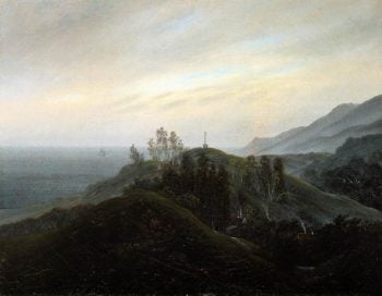View of the Baltic (1820-25) | Caspar David Friedrich | oil painting