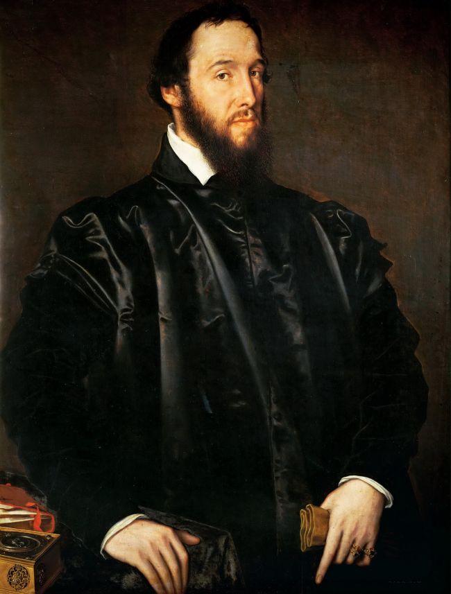 Cardinal Antoine Perrenot de Granvella   Antonis Mor   oil painting