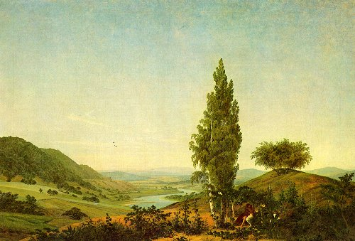 The Summer (1807) Neue Pinakothek Munich | Caspar David Friedrich | oil painting