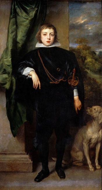 Prince Palatine Ruprecht von der Pfalz | Anthony van Dyck | oil painting