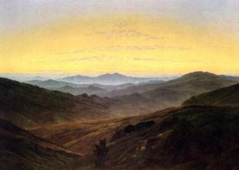 The Riesengebirge (1830-35) | Caspar David Friedrich | oil painting