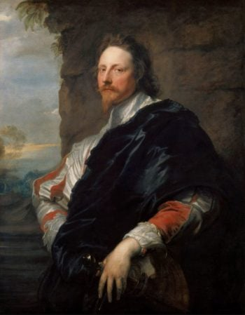 Nicholas Lanier -1588-1666 Music Master and Art Director of the English | Anthony van Dyck | oil painting