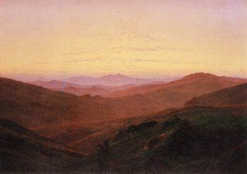 The Riesengebirge (1830-34) | Caspar David Friedrich | oil painting
