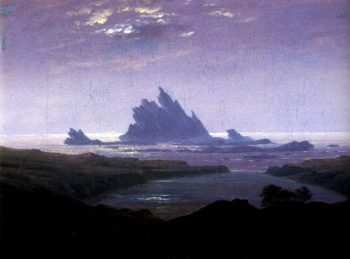 The Reefs (1824) | Caspar David Friedrich | oil painting