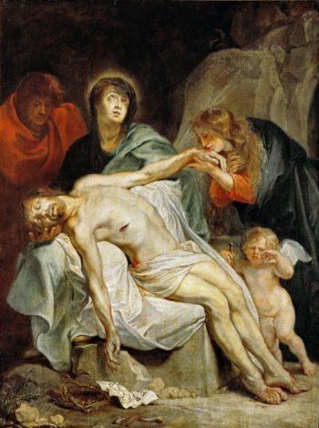 Lamentation -Deploration   Anthony van Dyck   oil painting