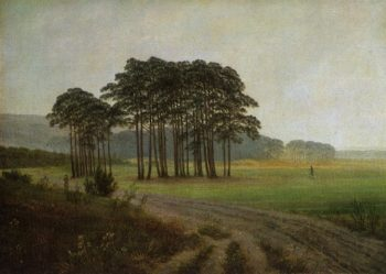 The lunch (1822) | Caspar David Friedrich | oil painting