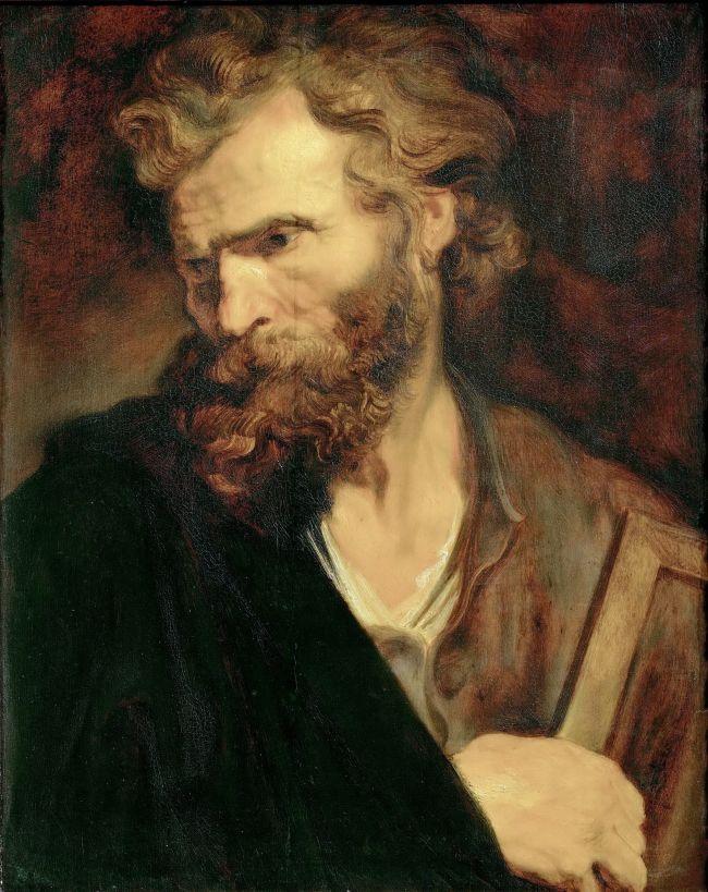 Apostle Judas Thaddaeus -Jude | Anthony van Dyck | oil painting