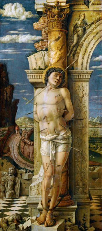 Saint Sebastian | Andrea Mantegna | oil painting