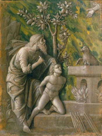Sacrifice of Isaac | Andrea Mantegna | oil painting