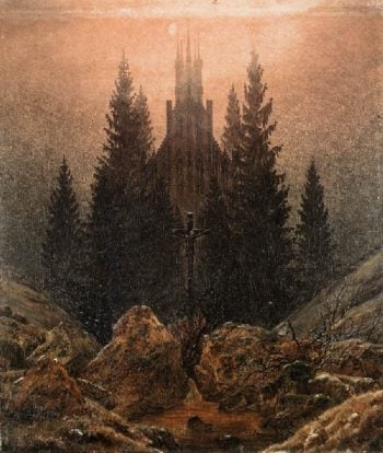 The Cross in the Mountains (1812) | Caspar David Friedrich | oil painting