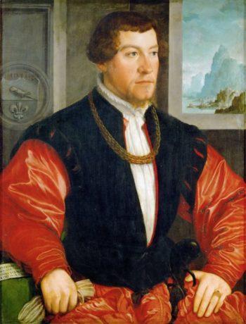 Christoph Baumgartner 1543 | Amberger Christoph | oil painting