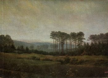 The afternoon | Caspar David Friedrich | oil painting