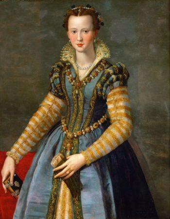 Maria de Medici | Alessandro Allori | oil painting