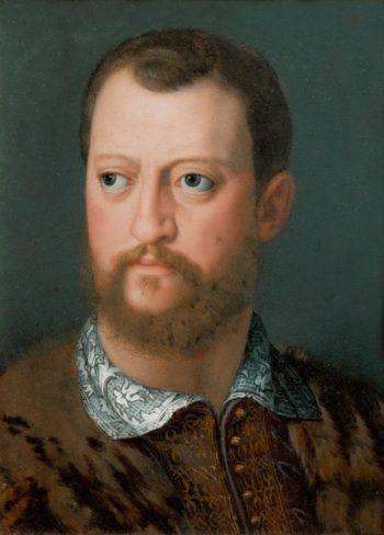 Cosimo I Medici | Alessandro Allori | oil painting