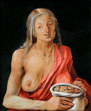 Vanitas | Albrecht Durer | oil painting