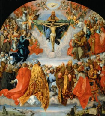 The Adoration of the Holy Trinity -Landauer Altarpiece | Albrecht Durer | oil painting