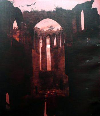 Ruine Oybin bei Mondschein (1812-32) | Caspar David Friedrich | oil painting