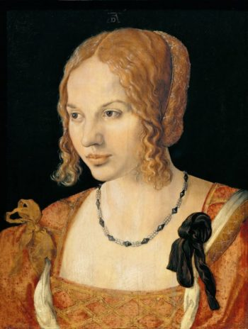 A Young Lady of Venice -Venetian Lady | Albrecht Durer | oil painting