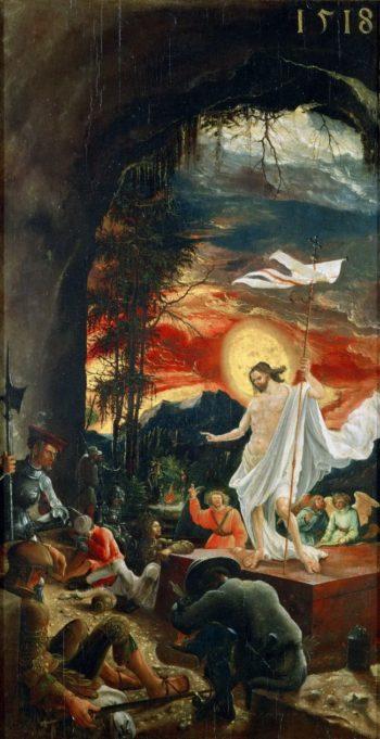 Resurrection of Christ   Albrecht Altdorfer   oil painting