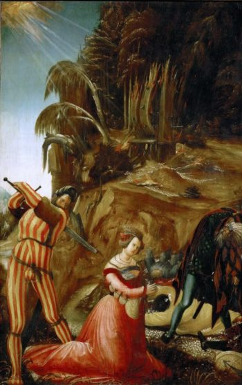 Martyrdom of Saint Catherine of Alexandria | Albrecht Altdorfer | oil painting