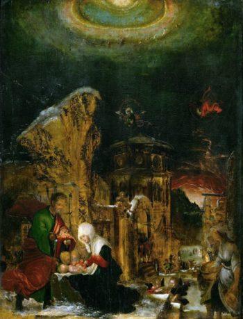 Holy Night   Albrecht Altdorfer   oil painting