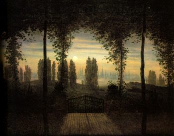 Picture in Remembrance of Johann Emanuel Bermer (1817) | Caspar David Friedrich | oil painting