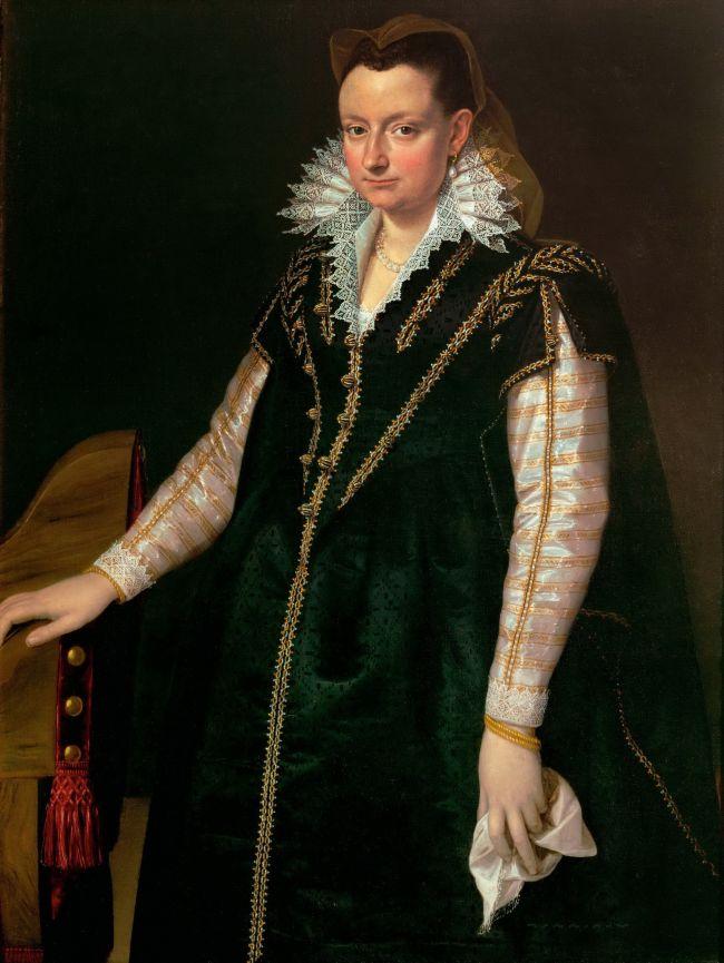 Eleanor of Toledo | Agnolo Bronzino | oil painting