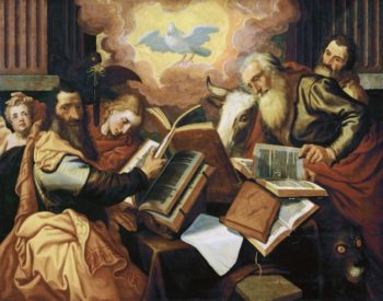 The four evangelists 1560-1565 | Aertsen Pieter | oil painting