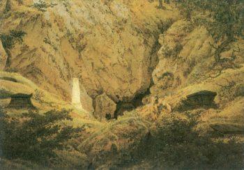 Old Heroes Graves (1812) | Caspar David Friedrich | oil painting