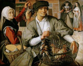 Market scene around 1560 | Aertsen Pieter | oil painting