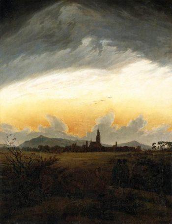 Neubrandenburg (1817) | Caspar David Friedrich | oil painting