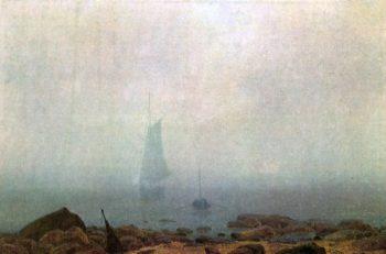 Nebel (1807) | Caspar David Friedrich | oil painting