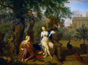 Vertumnus and Pomona | Adriaen van de Velde | oil painting