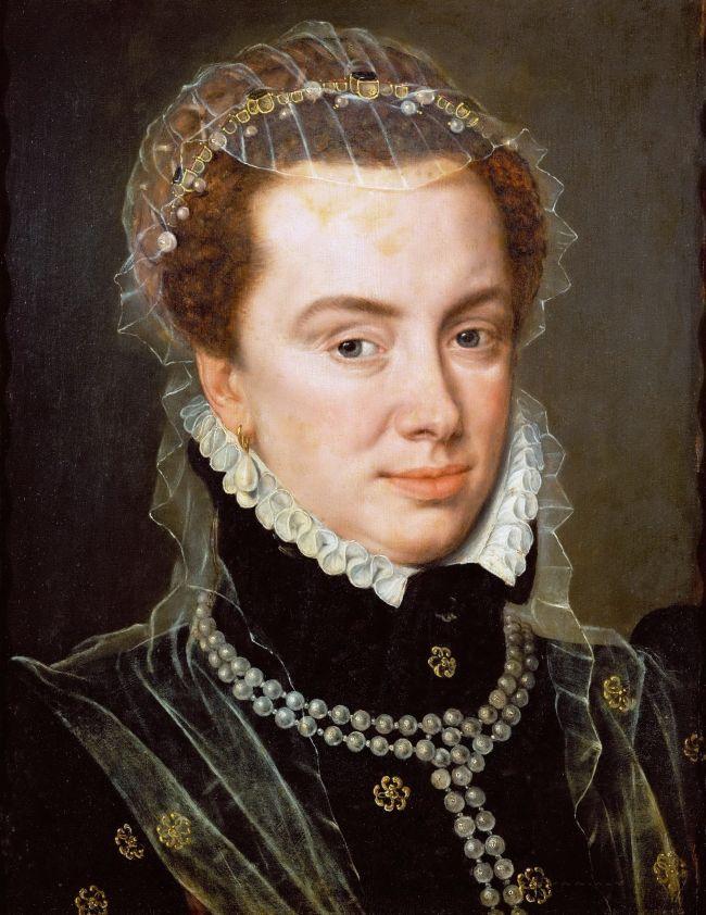 Margaret of Parma | Adriaen Thomasz Key | oil painting