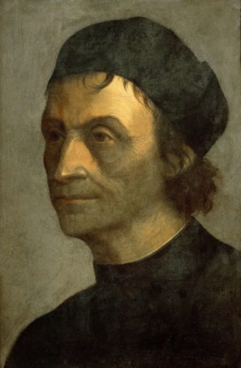 Portrait of a Priest from the Papal Court | Sebastiano del Piombo | oil painting