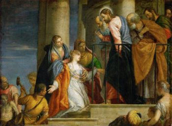 Raising of the Youth of Nain | Paolo Veronese | oil painting
