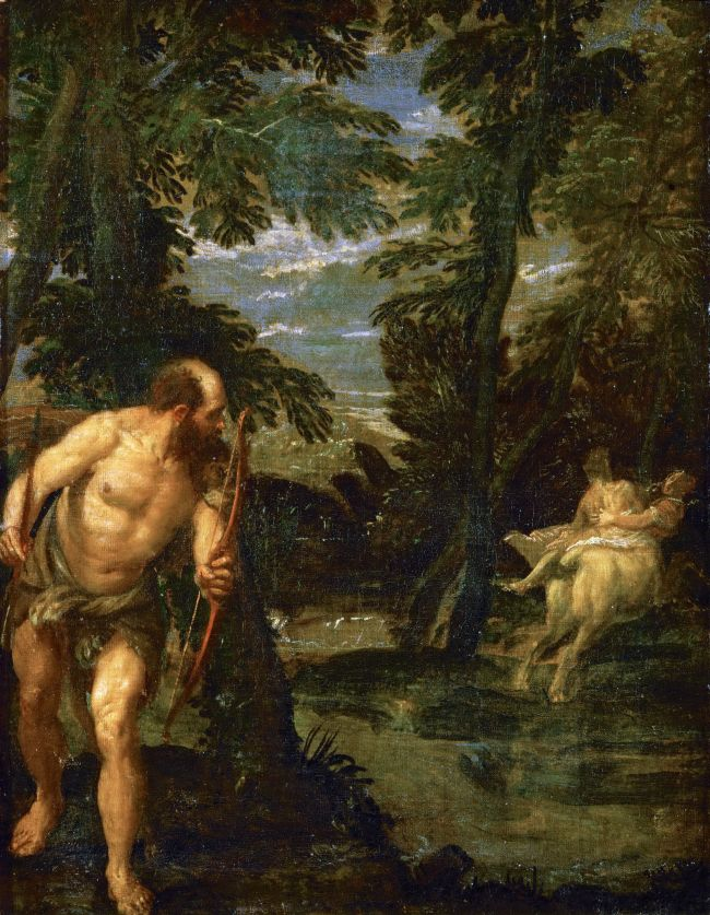 Hercules Deianira and the Centaur Nessus | Paolo Veronese | oil painting
