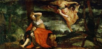 Hagar and Ismael in the Desert of Bersheeba | Paolo Veronese | oil painting
