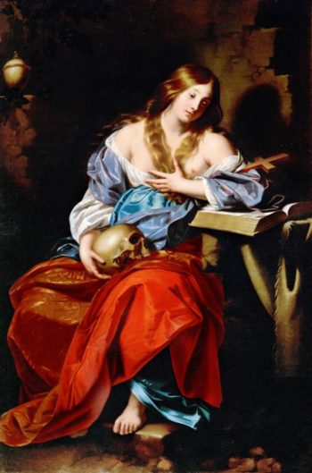 Penitent Mary Magdalen | Nicolas Regnier | oil painting