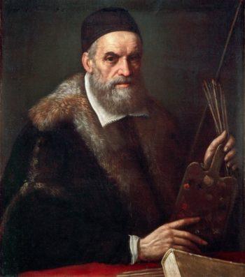Portrait of Jacopo Bassano il Vecchio | Leandro Bassano | oil painting