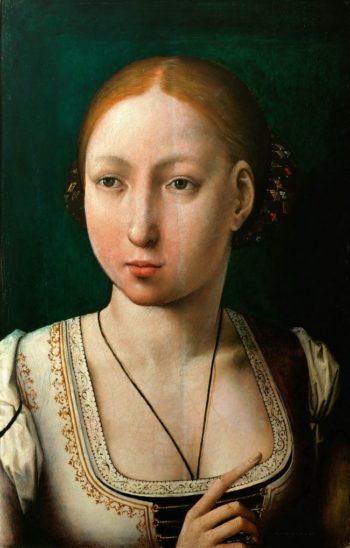 Juana La Loca -Juana the Mad | Juan de Flandes | oil painting