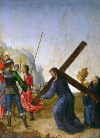 Christ Carrying the Cross | Juan de Flandes | oil painting