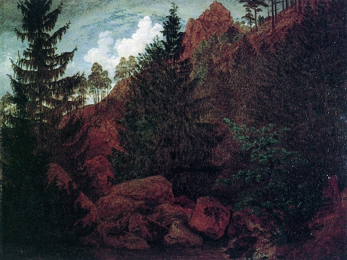 Felspartie (1811) | Caspar David Friedrich | oil painting