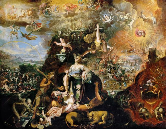 Allegory of the Apocalypse | Joseph Heintz the Younger | oil painting